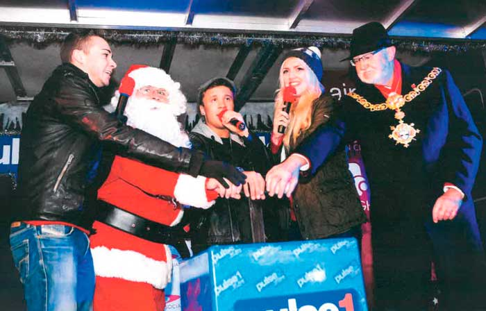 Keighley's celebrity switch-on